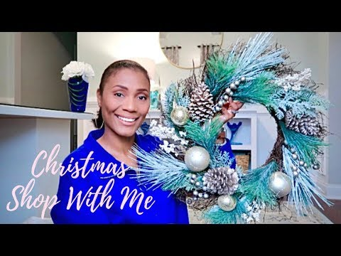NEW!! SHOP WITH ME| CHRISTMAS SHOP WITH ME AND HAUL| HOBBY LOBBY & KIRKLANDS