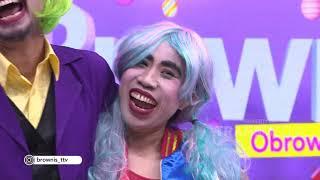 BROWNIS - Joker Ganti Profesi Menjadi Presenter Infotainment  (9/10/19) Part1