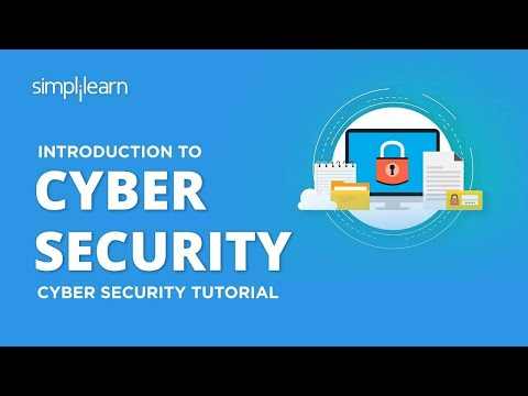 Introduction To Cyber Security | Cyber Security Training For Beginners | Cyber Security |Simplilearn