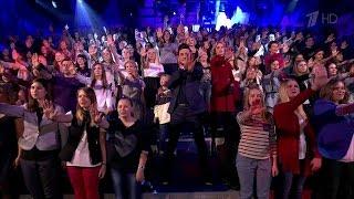 Вечерний Ургант. Дима Билан — «Не молчи».(16.10.2015)