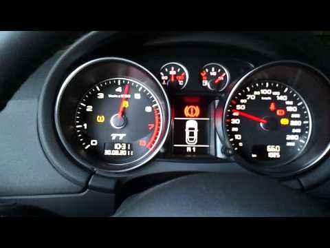 Audi TT DSG Gearbox Shifting