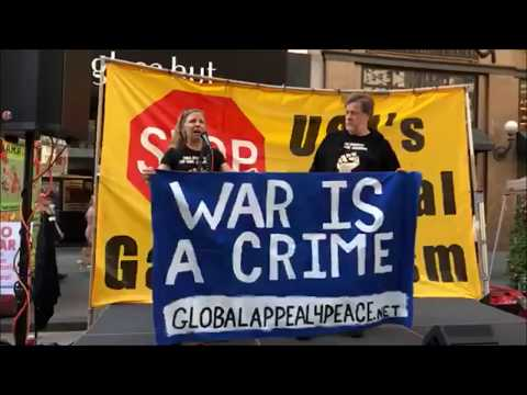 GlobalAppeal4Peace - New York 22.9. – Save the Planet / Antiwar - peoplesmobe.org