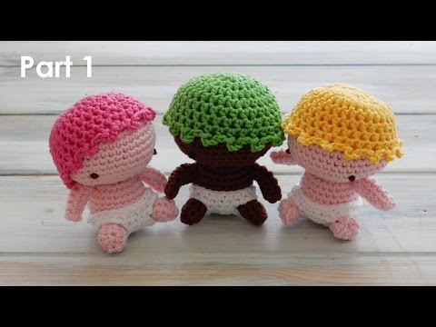 How to Crochet my Amigurumi Baby - Pt 1