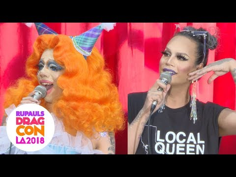 Fashion Photo Ruview Panel at RuPaul's DragCon 2018 in Los Angeles