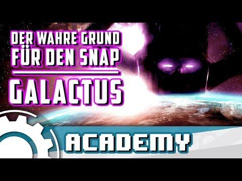GALACTUS: Der wahre Grund für den Snap? [ENDGAME THEORIE]