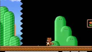 TAS Super Mario All-Stars Super Mario Bros. 3 SNES in 66:46 by Genisto