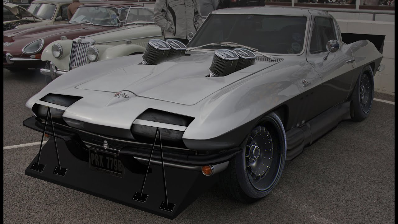 corvette stingray 1963 virtual tuning #6