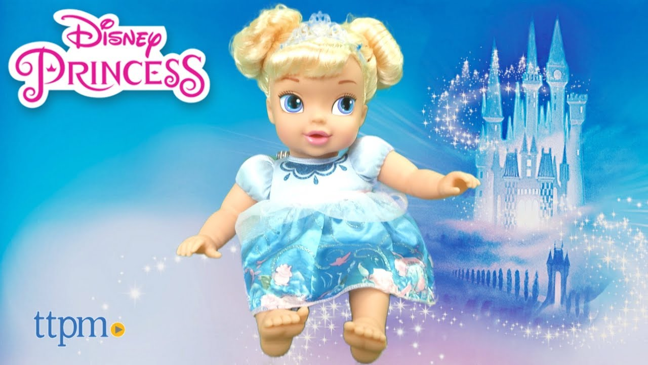 033d308c4519 Disney Princess Baby Cinderella from Jakks Pacific - YouTube