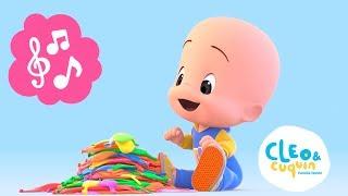 ¡Aprende los colores con Cuquin, Fantasma y los globos! Can...