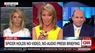 Sean Spicer's No Audio No Video Press Conference was like covering bad reality television & Jared Ku