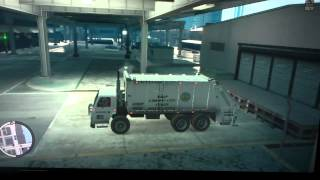 Garbage truck and fire truck GTA 4 where to find