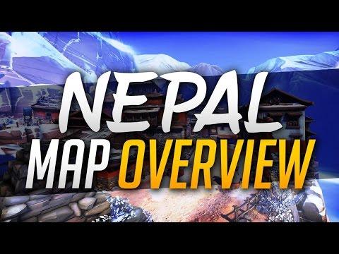 Overwatch: Map-Guide - Nepal (German)