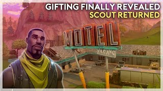 Gifting FINALLY Revealed, Tournaments, Scout Came Back! (Fortnite Battle Royale)