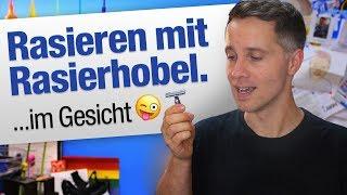 Rasieren mit Rasierhobel   jungsfragen.de