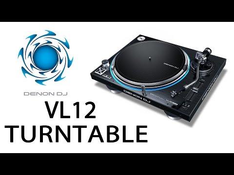 Denon DJ VL12 Turntable - The M-A-T