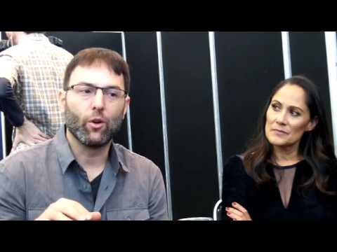 Sleepy Hollow EP Mark Hoffman and Star Sakina Jaffrey NYCC 2014