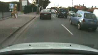 (93) Car Cam: Close Call with A Pedestrian