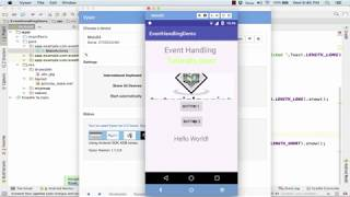 [11.33 MB] Android - Event Handling