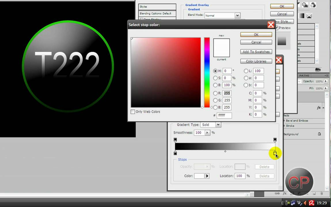 How To Create A Nice Logo In Poto Cs3 Cs4