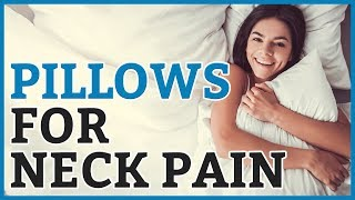 Best Pillow For Neck Pain 2019 - 8 TOP RATED Pillows For Neck Pains