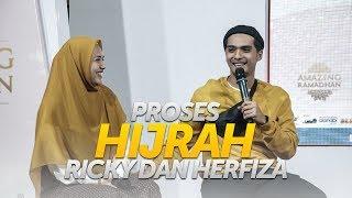 Romantis ! Kisah Hijrah Ricky Harun dan Herfiza Novianti