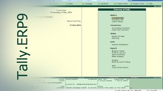 Tally.ERP9 : Check and Modify Opening balance in Tally