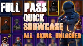 FORTNITE FULL SEASON 3 BATTLE PASS UNLOCKED