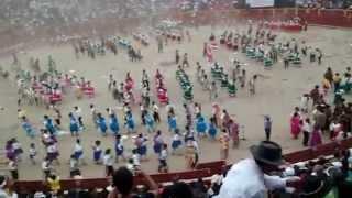 Carnaval de vilcas huaman  campeones  2014 plaza de acho 2