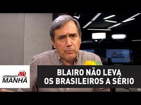 Blairo Maggi não leva os brasileiros à sério   Marco Antonio Villa