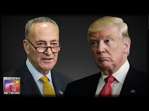 Chuck Schumer Just Commited the Money to Build Trump's Wall - But The President Isn't Pleased