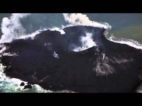 Stunning! ISLAND GROWS 3.7 TIMES in 2 WKS shock Geologists 12.18.13