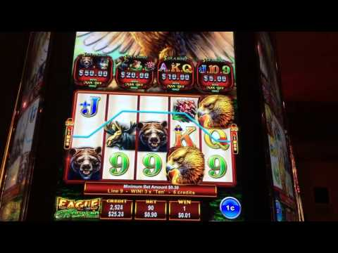 Eagle Mountain Slot Machine Play 1st Attempt