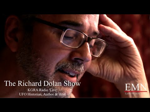 "UFO Disclosure in Today's World of Fascism – Richard Dolan ""live"""