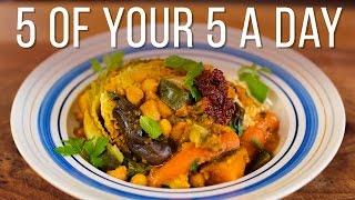 Seven-Veg Tagine  5 a Day Dish