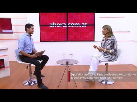 AHORA TV | Entrevista con Claudia Mizawak - Parte 1