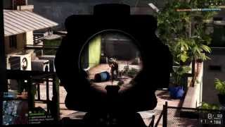 Battlefield 4 SRR-61 Sniper Rifle Gameplay: Epic Killstreak (BF4 PC Multiplayer Gameplay)