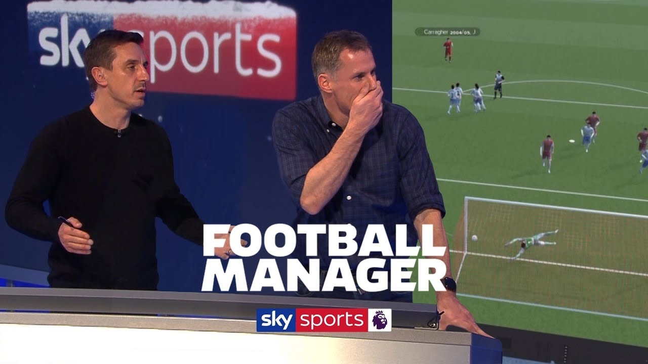 Team of ONLY Gary Nevilles v Team of ONLY Jamie Carraghers on Football Manager ????