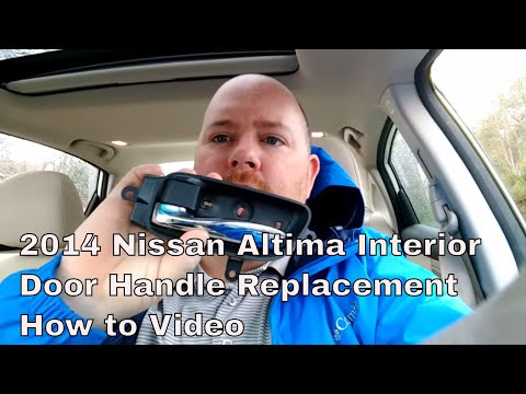 2014 Nissan Altima interior door handle replacement how to video
