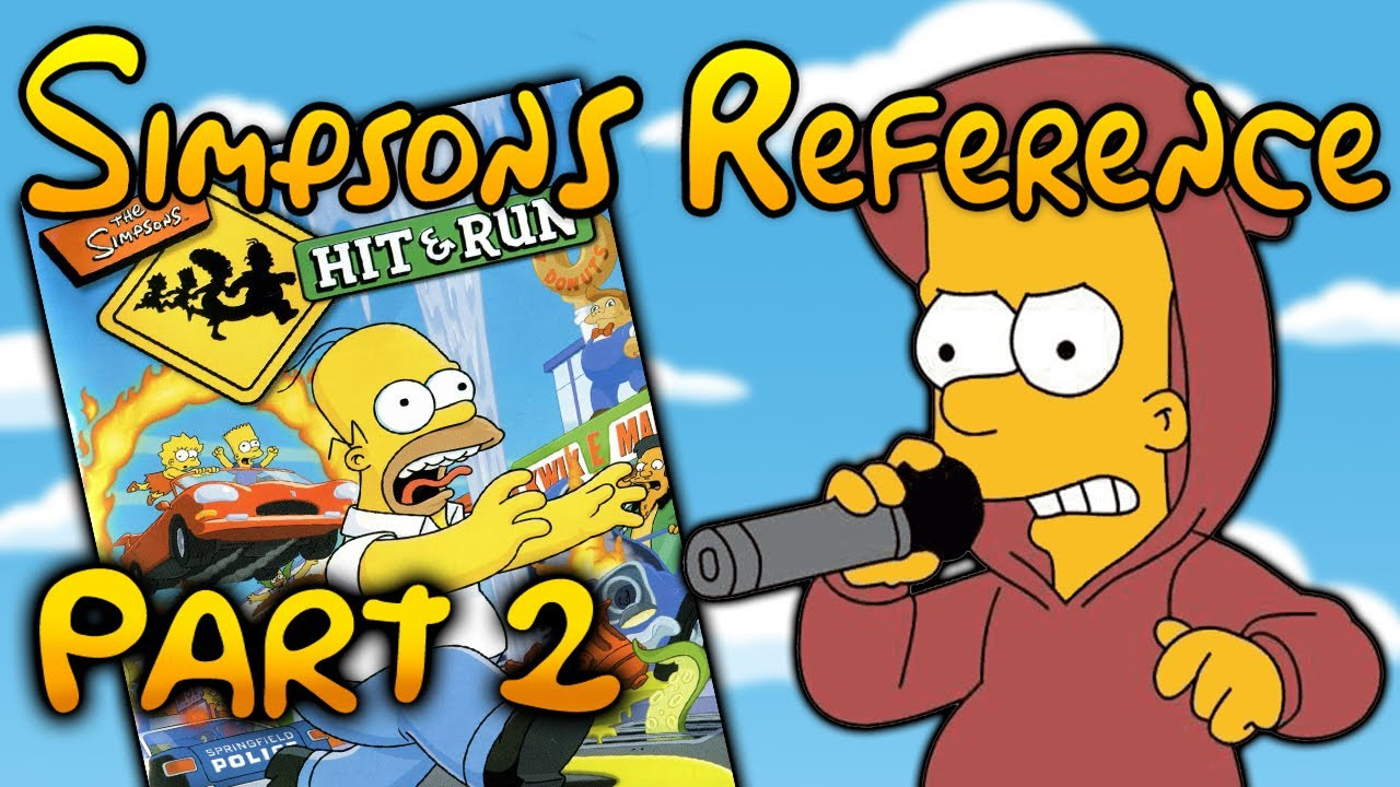 Simpsons Hit & Run - Simpsons Reference (Part 2)