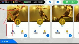 Using 100K GP to Open Agent PES 2017 Mobile