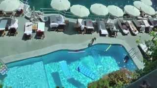 Napoli Amalfi Coast Hotel Santa Caterina IL Rstorante Sul Mare ed i lussuosi interni