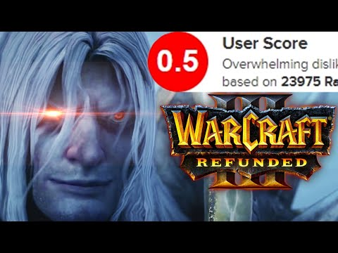 WarCraft 3 Reforged - The Worst Remaster Ever Made
