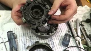 Как заменить диски сцепления в мопеде