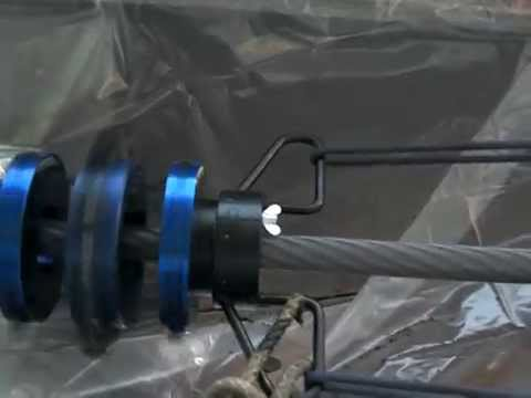 Haul Rope Cleaning Tool - YouTube