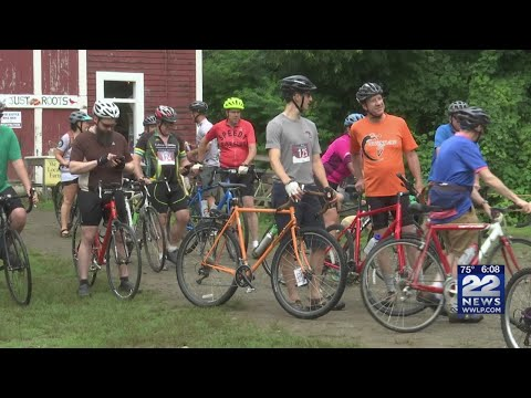 Bike riders race all over Franklin County to raise money to feed those in need