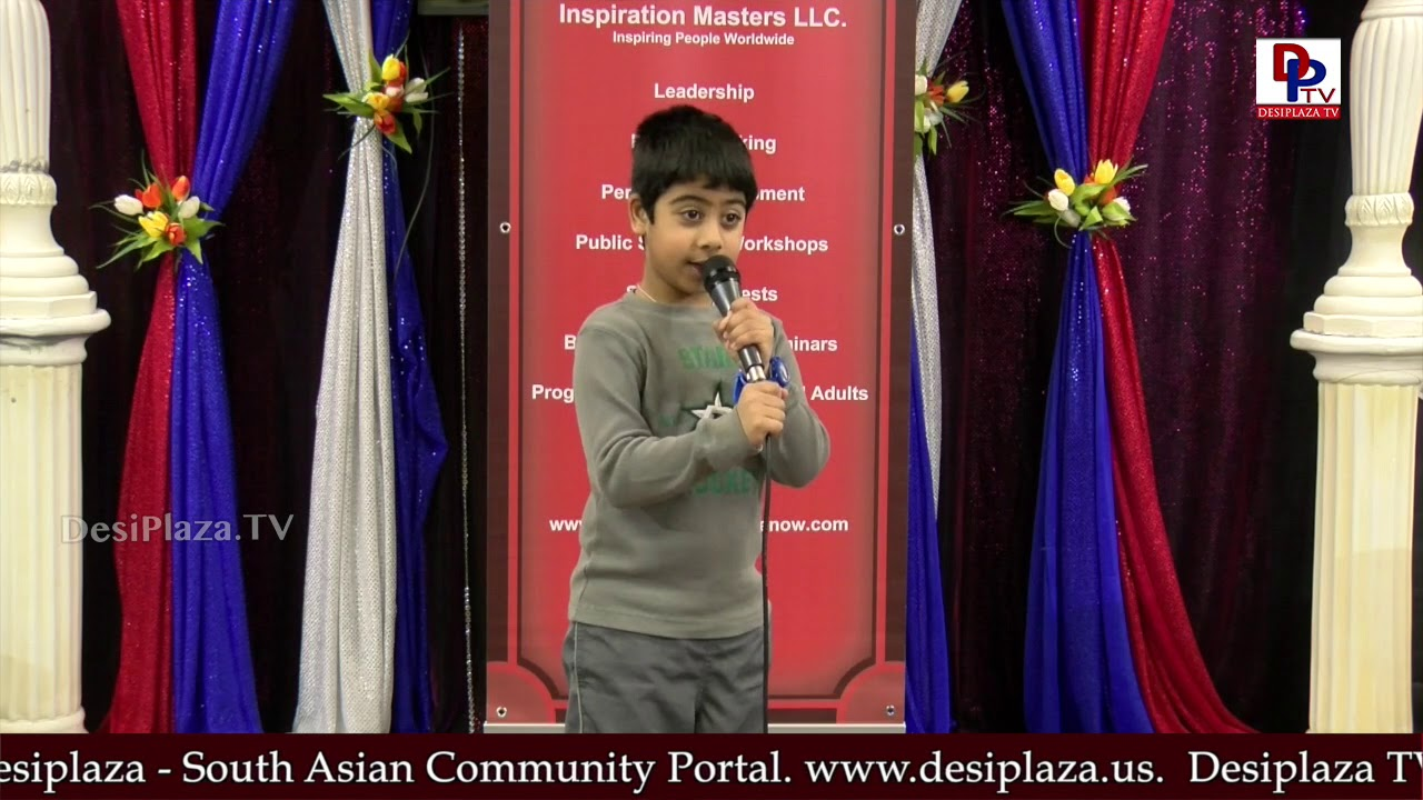 "Ishanth speaks about ""Drafts Habitat"" Talking Bee - Public Speaking Competitions 2018 