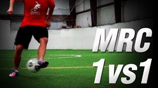 MRC 1vs1 | Soccer Attacking Drills | Offensive Soccer Training