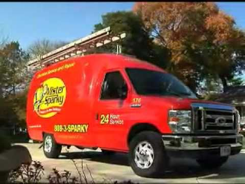 301-340-9711 Mister Sparky www.RockvilleElectrician.com Rockville Montgomery County MD Electrician