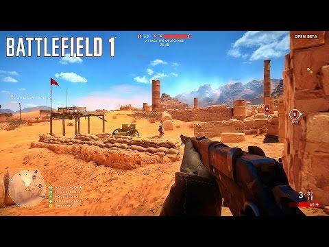 BATTLEFIELD 1™ Deserto do Sinai - Rush | Médico ★ Cei-Rigotti Factory - 26/14 | BF1 Open Beta #02