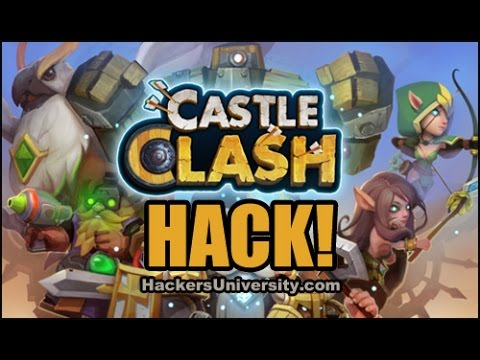 Castle Clash - Gameplay IOS Android - Hacked Game